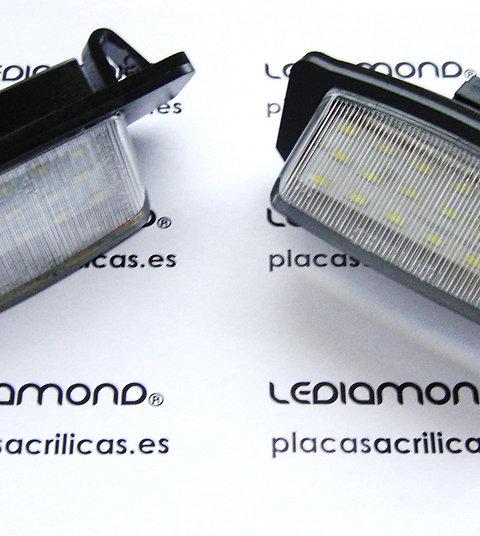 Plafones LED Matrícula MITSUBISHI OUTLANDER LANCER SPORTBACK LMD032801