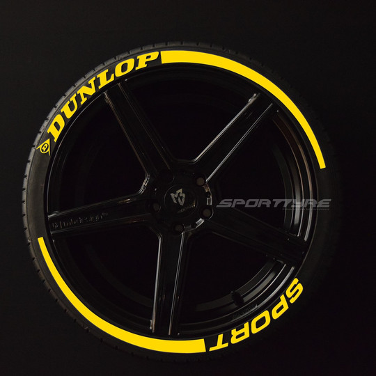 DUNLOP + SPORT amarillo 2 flechas SportT