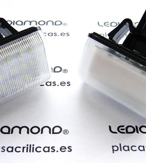 Plafones LED Matrícula MAZDA 6 CX-5 CX7  LMD030501