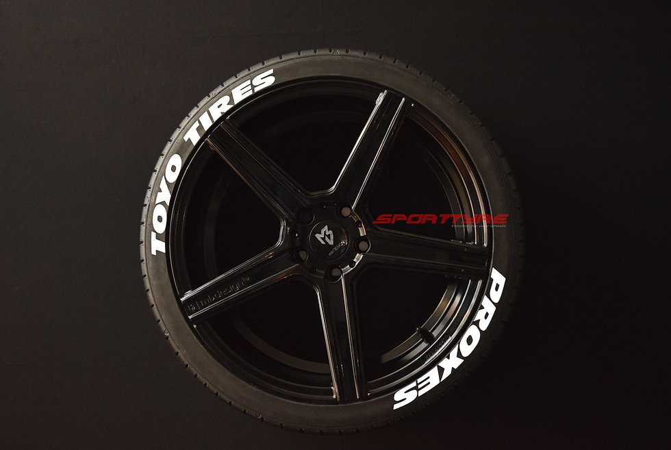 TOYO TIRES PROXES (Wide) SportTyre EVO4. Set 8 + 1 Activador