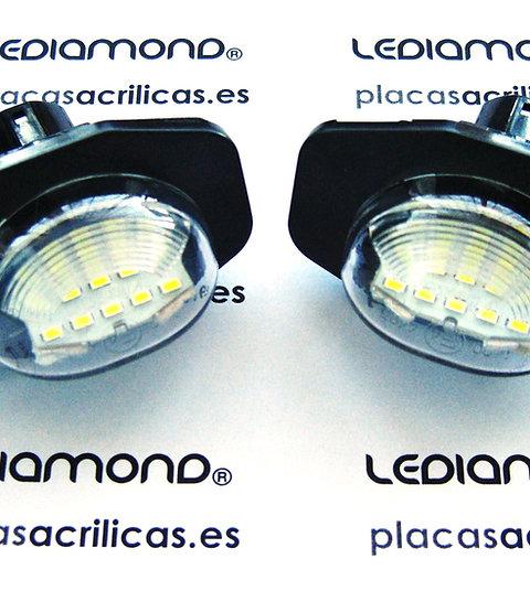 Plafones LED MatrículaTOYOTA AURIS COROLLA URBAN CRUISER LMD030409