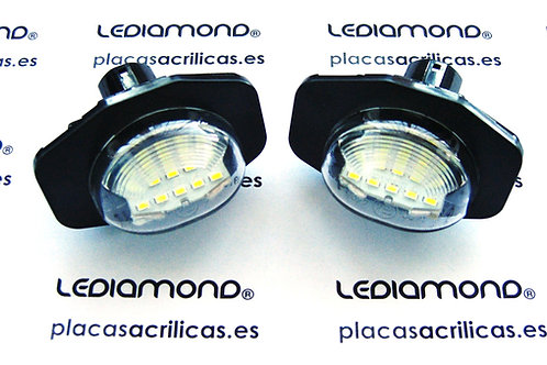 Plafones LED MatrículaTOYOTA AURIS COROLLA URBAN CRUISER LMD030409