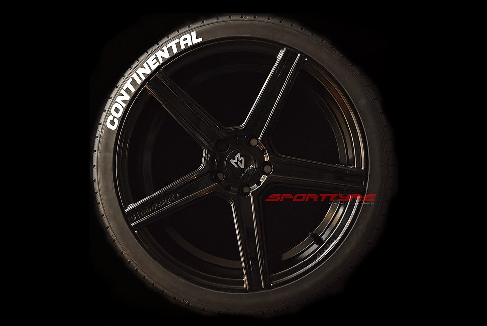 CONTINENTAL SportTyre EVO4 High Performance. Set 4 + 1 Activador