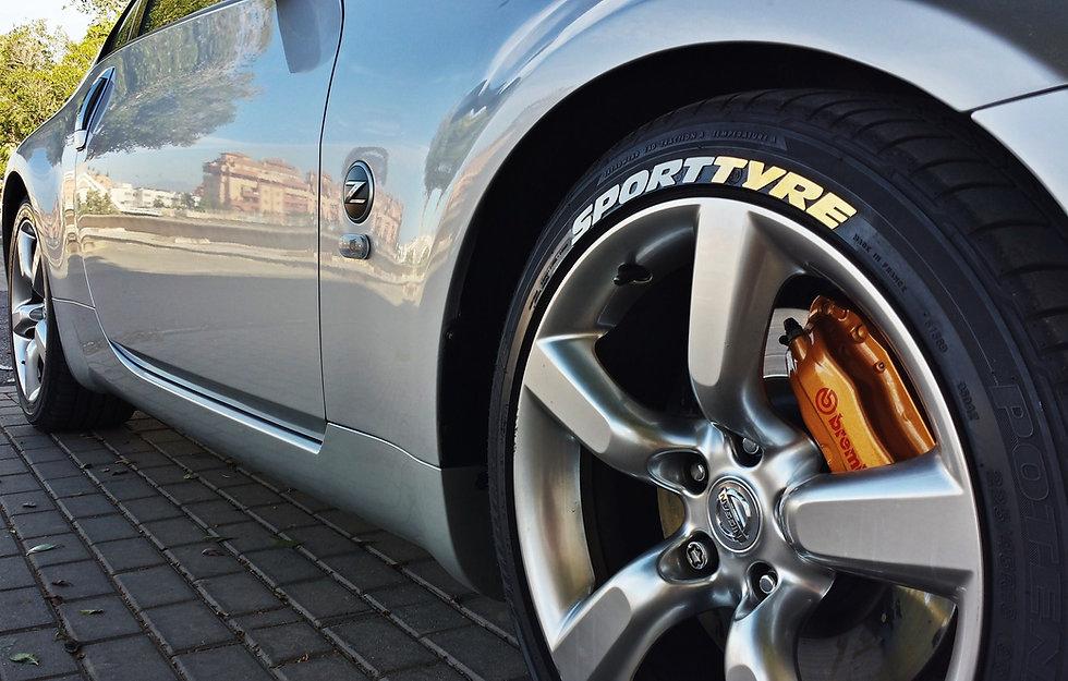 SportTyre EVO2 Personalizar Neumáticos