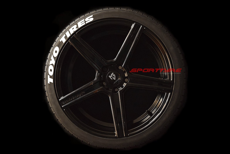 TOYO TIRES (Wide) SportTyre EVO4 High Performance. Set 4 + 1 Activador