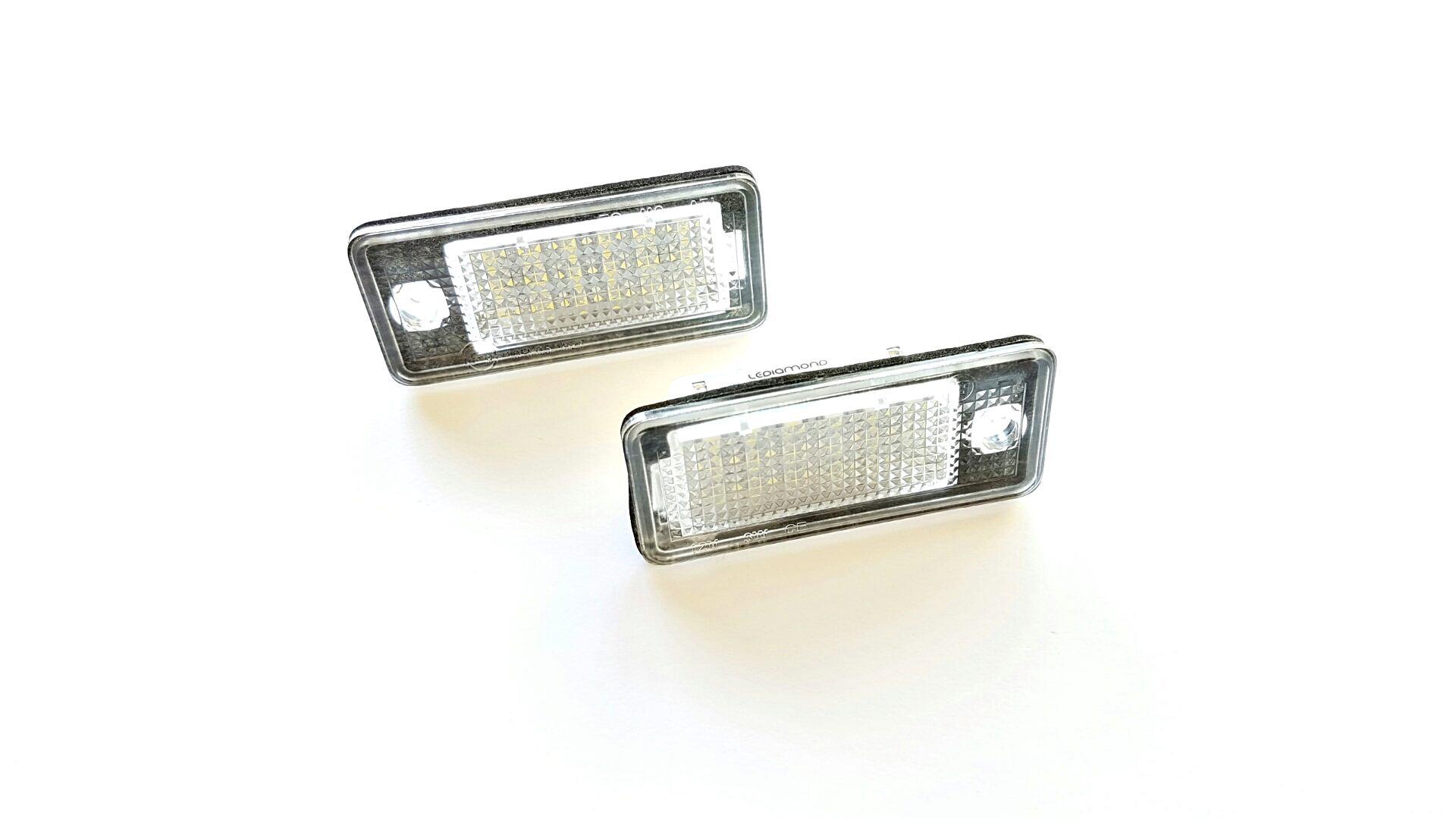 PLAFONES MATRICULA LED AUDI A3 A4 A5 A6 A8 Q7 RS4 LEDIAMOND LMD030804