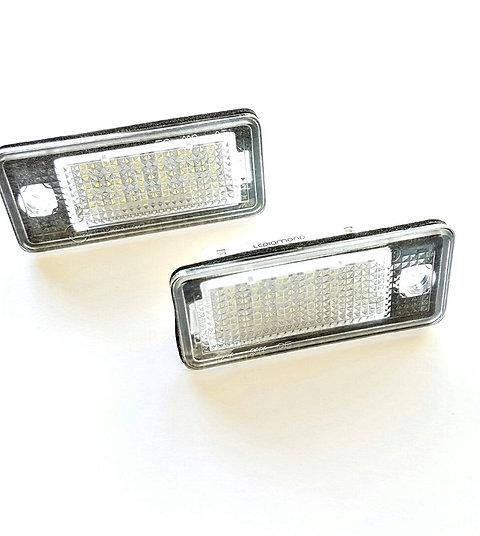 Plafones LED Matrícula AUDI A3 A4 A5 A6 A8 Q7 RS4... LMD030804
