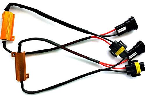 KIT CANBUS 50W con conector H8 y H11 PLUG&PLAY. Canceladores de Error