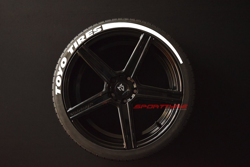 TOYO TIRES (Wide) + ARROW SportTyre EVO4 Set 4 + 2 Activador + 1 Limpiador
