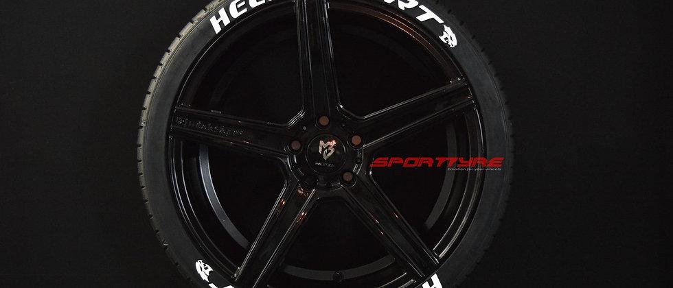 HELLCAT SRT SportTyre EVO4 FASHION. Set de 8. Calidad Altas Prestaciones