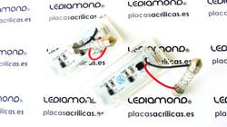 PLAFONES MATRICULA LED BMW X5 E53 X3 E83 LEDIAMOND LMD030117 B