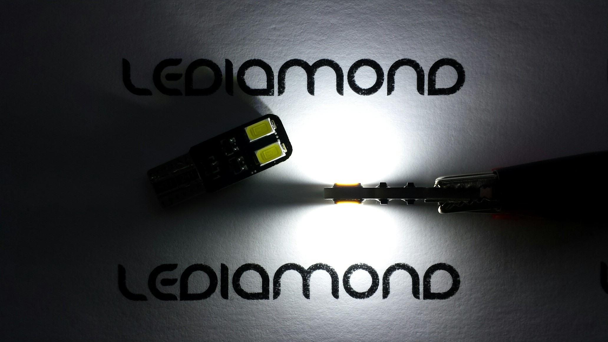 LEDIAMOND W5W-10 EXTRAPLANA DOBLE CARA 5630 SAMSUNG 3
