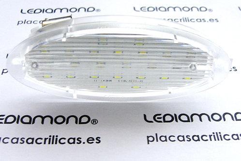 Plafones LED Matrícula OPEL Astra F Corsa B Corsa A Vectra TigraLDM030903