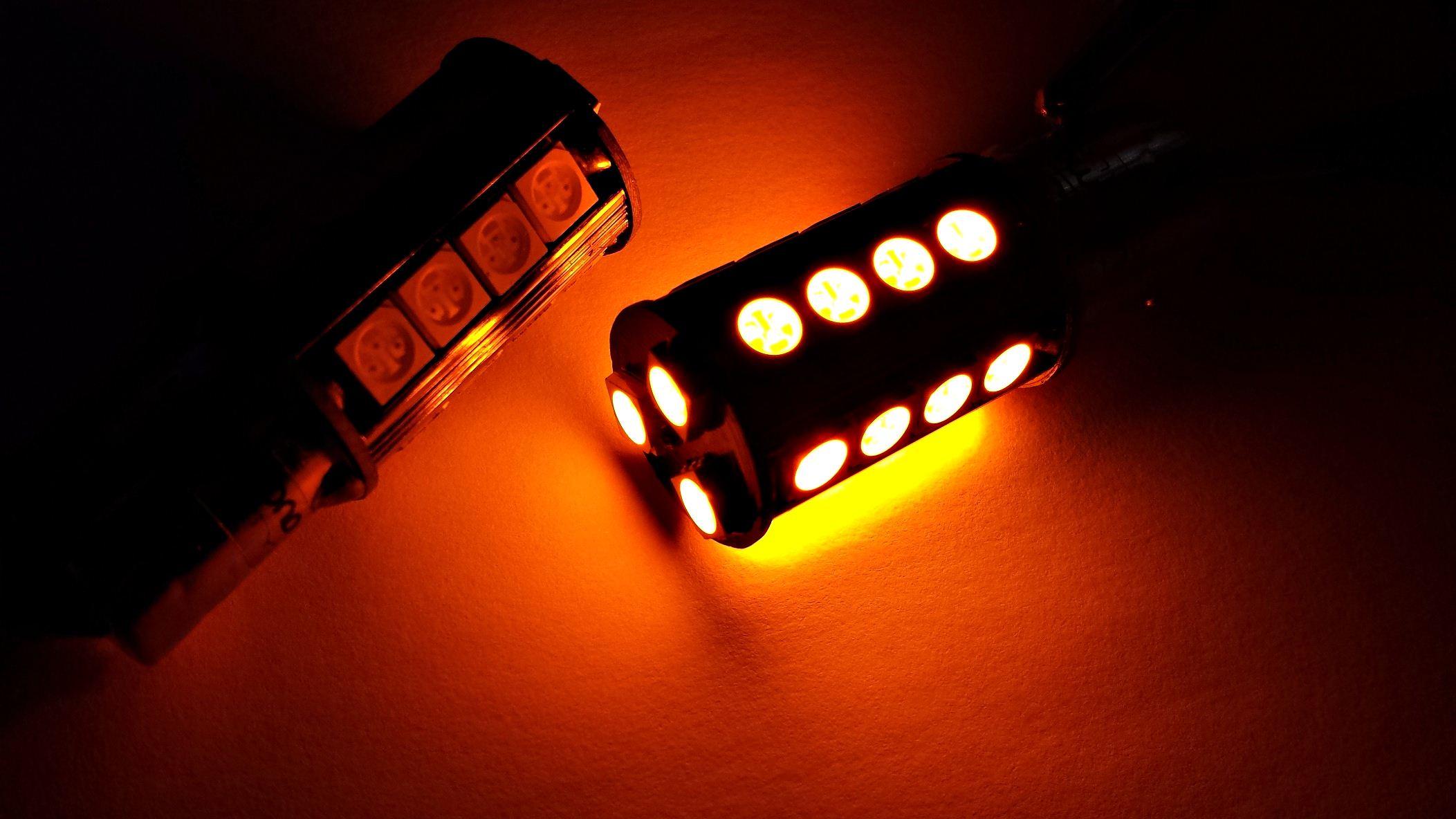LEDIAMOND PY21W-BAU15S naranja luz