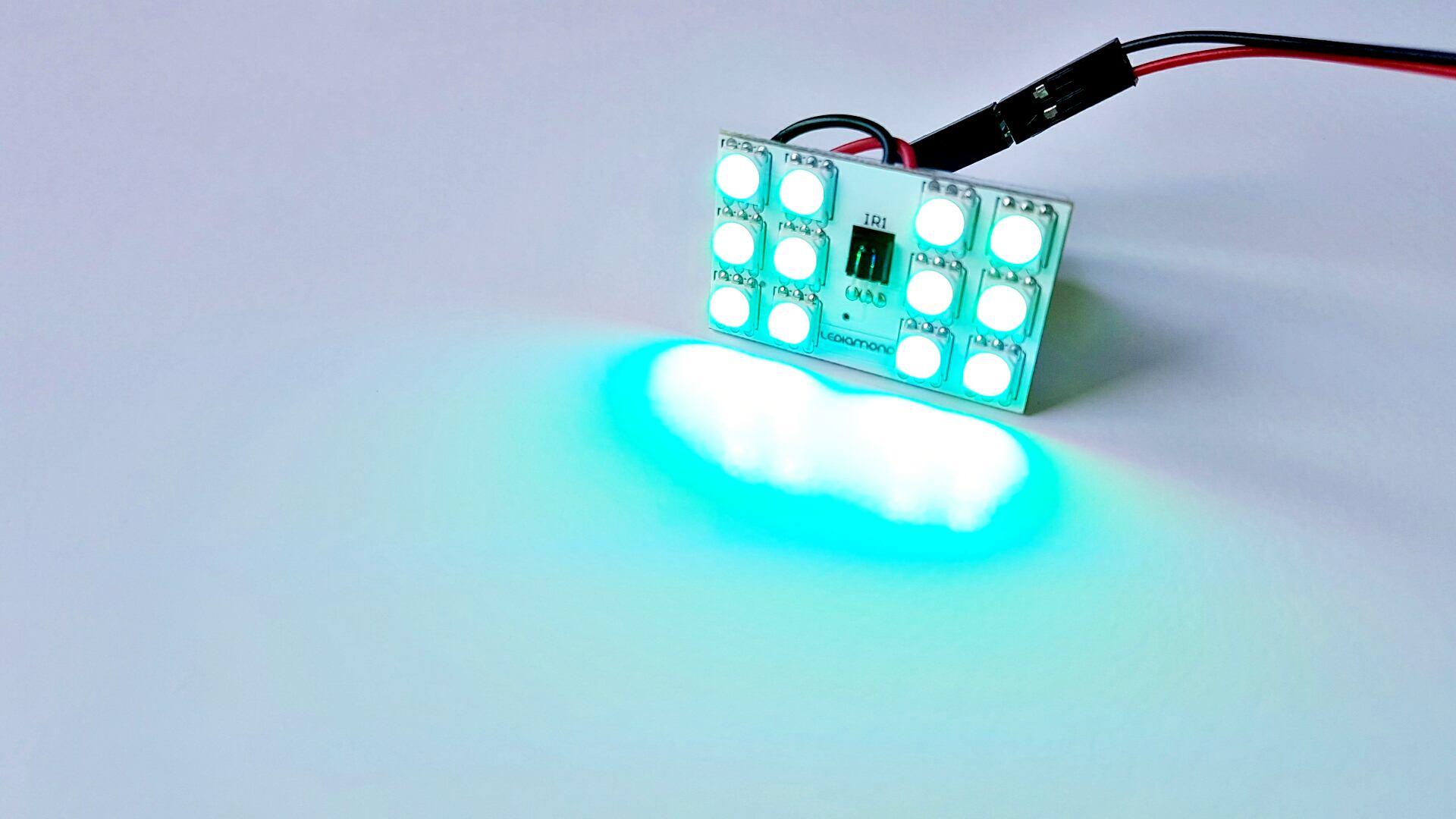 LEDIAMOND RGB PANEL 12 LED LUZ 2