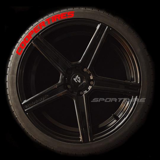 COOPER TIRES rojo 1 SportTyre EVO4 logo.