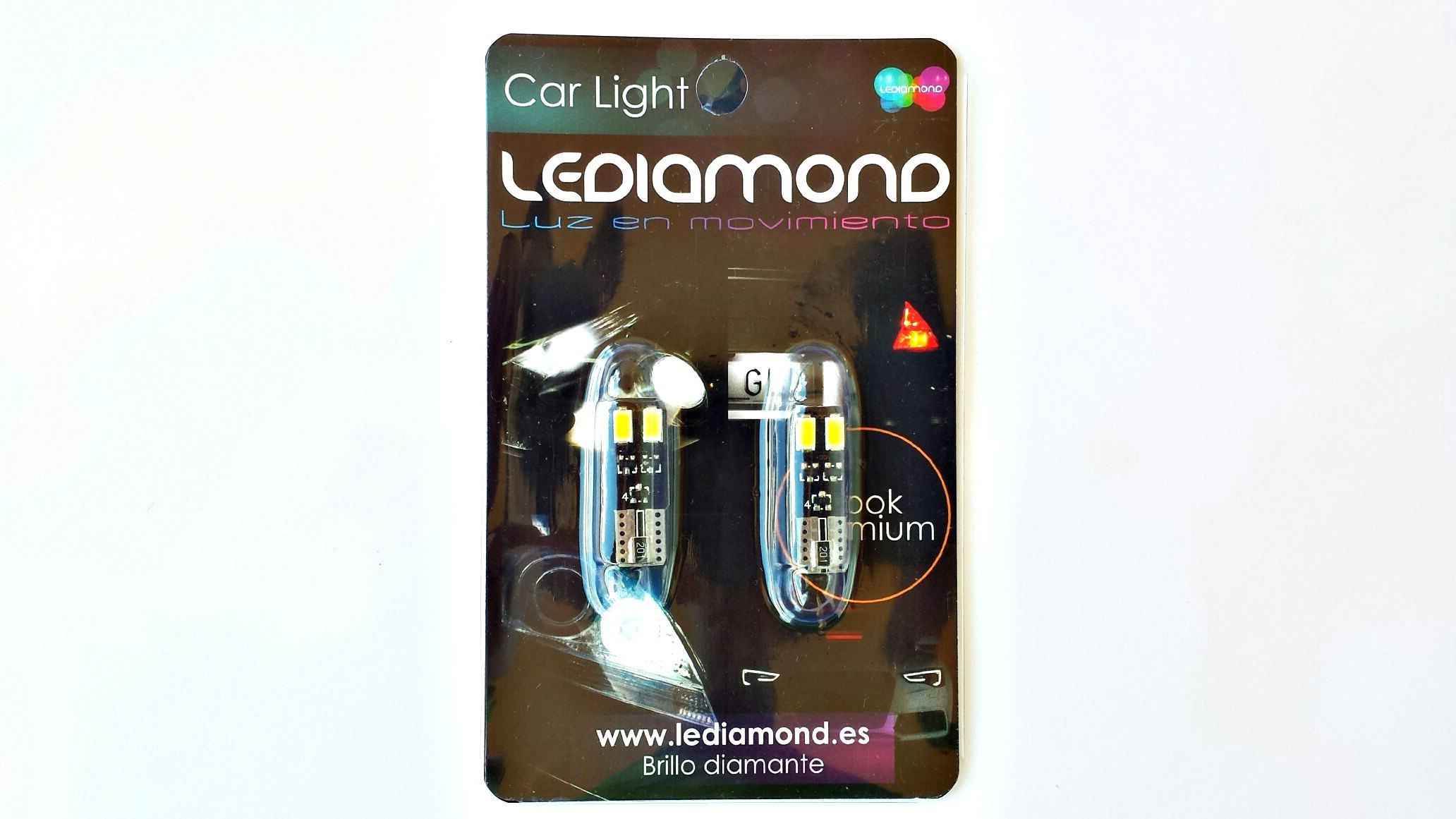 BLISTER LEDIAMOND W5W-10 EXTRAPLANA DOBLE CARA 5630 SAMSUNG 2