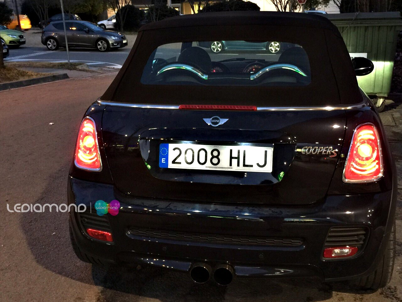 PLAFONES LED MATRICULA MINI LEDIAMOND