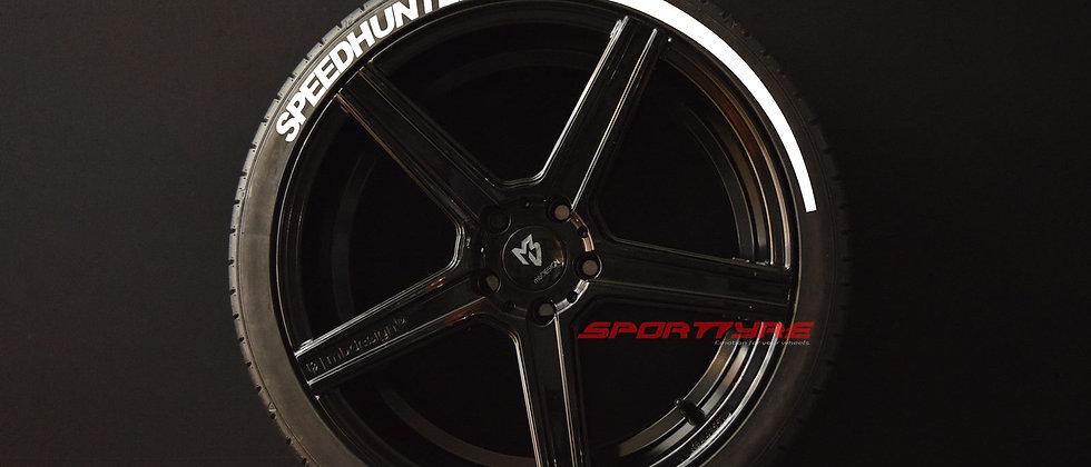 SPEEDHUNTERS + ARROW SportTyre EVO4 Top Quality Set 4 + 2 Activador + 1Limpiador