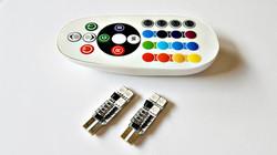 LEDIAMOND RGB CONECTOR T10 6 LED