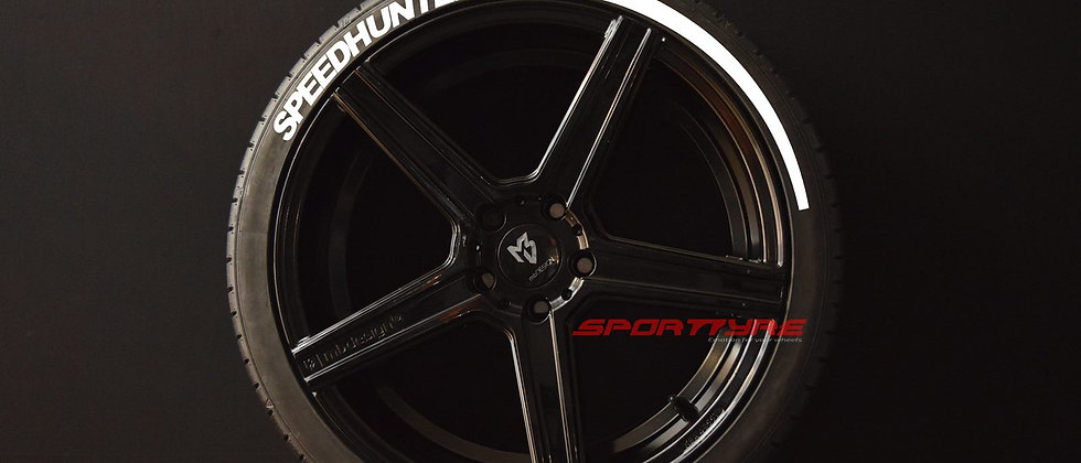 SPEEDHUNTERS + ARROW SportTyre EVO4 Fashion Set 4 + 2 Activador + 1 Limpiador