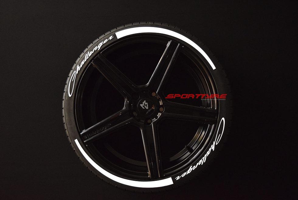 CHALLENGER + ARROW SportTyre EVO4 Fashion. Set 8 + 2 Activador + 1 Limpiador