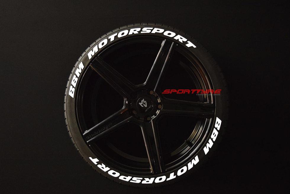 BBM MOTORSPORT SportTyre EVO4 FASHION. Set 8 + 1 Activador + 1 Limpiador Letras