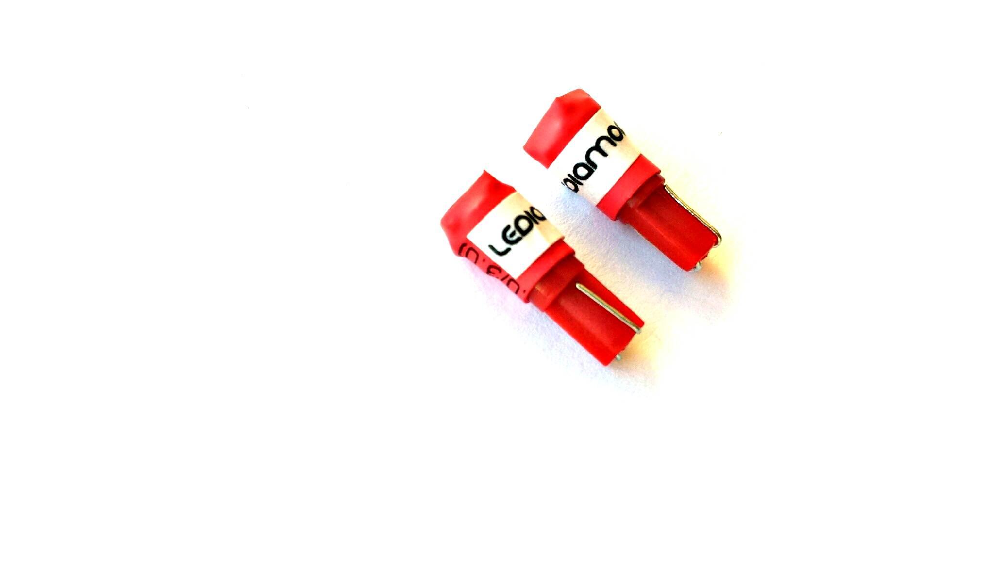 Bombillas led T5 rojo LEDIAMOND ambiente2