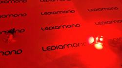 LEDIAMOND W5W-T10 CLEAR ROJO LUZ 4