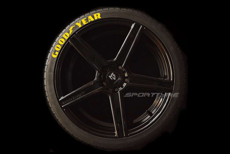 GOODYEAR SportTyre EVO4 High Performance. Set 4 + 1 Activador