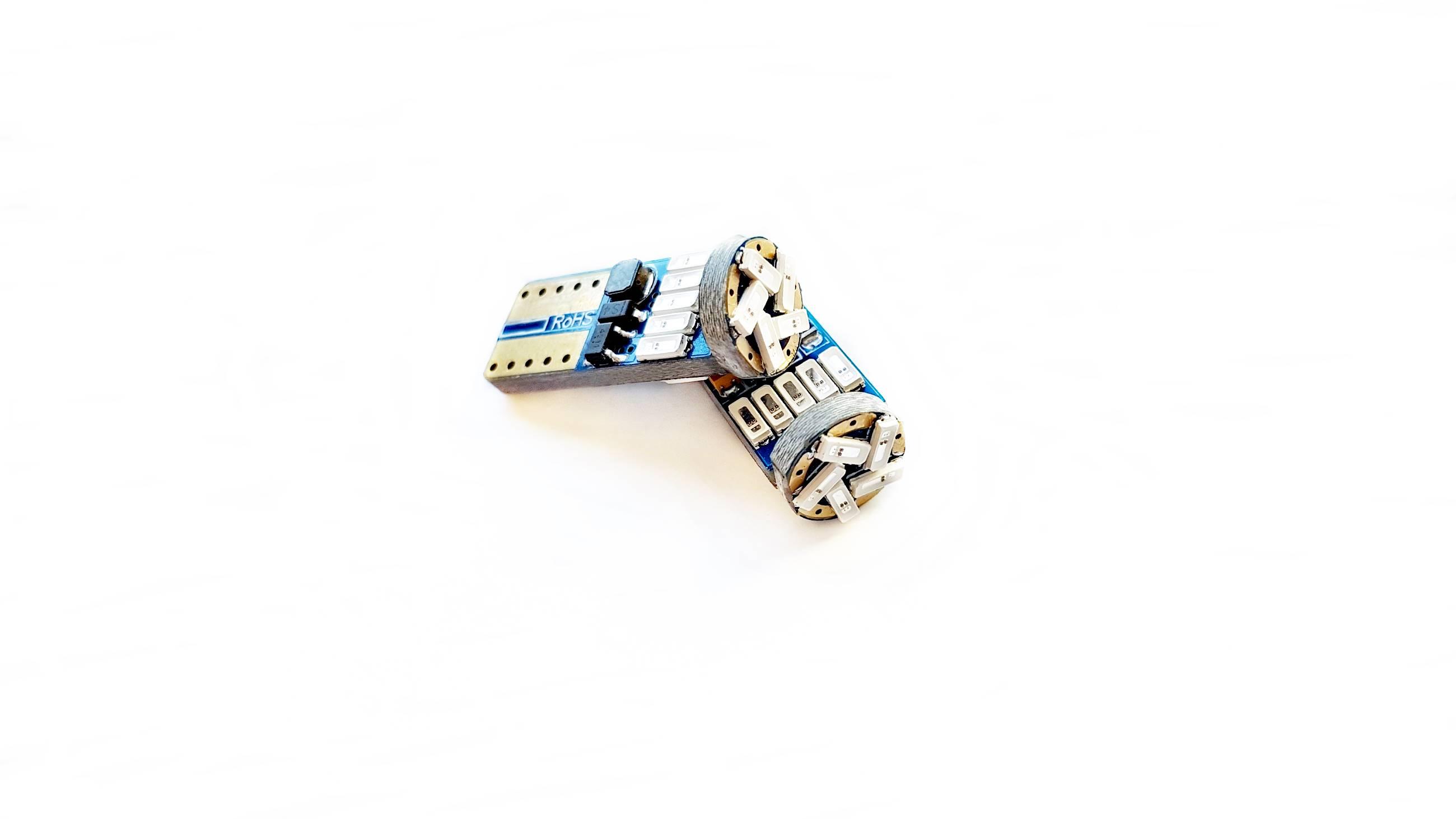 LEDIAMOND W5W-T10 BLUE EDITION EXTRAPLANA ROJO