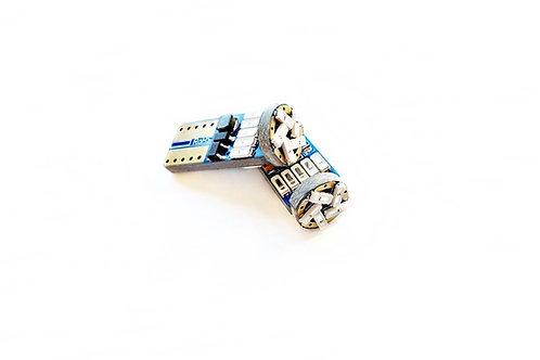 LEDiamond W5W – T10 BLUE EDITION EXTRAPLANA. Rojo Intenso. Chip Samsung 4014