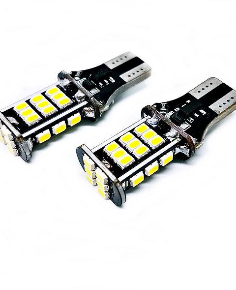 LEDiamond W16W-T15. CANBUS. Alto brillo. Chipset SAMSUNG 2030. Ultra Compacta