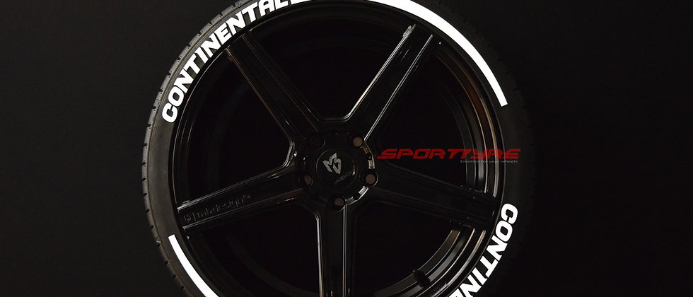 CONTINENTAL + ARROW SportTyre EVO4 Top Quality. Set 8 + 2 Activador + 1Limpiador
