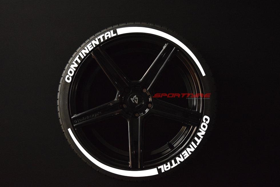 CONTINENTAL + ARROW SportTyre EVO4 Top Quality. Set 8 + 2 Activador + 1Limpiador