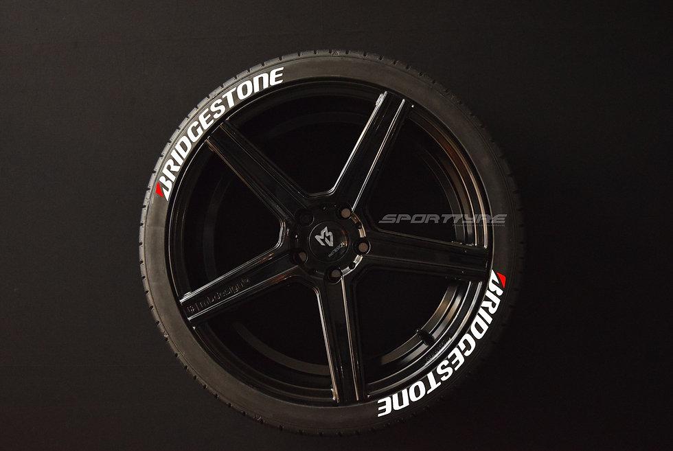 BRIDGESTONE SportTyre EVO4 High Performance. Set 8 + 1 Activador