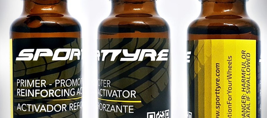 Primer - Activador Reforzante Letras SportTyre. Promotor de Adhesión.