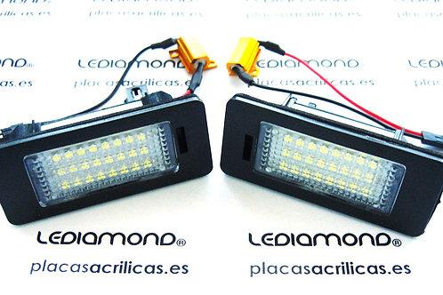Plafones LED Matrícula VOLKSWAGEN GOLF VI VARIANT GOLF PLUS SHARAN... LMD030610