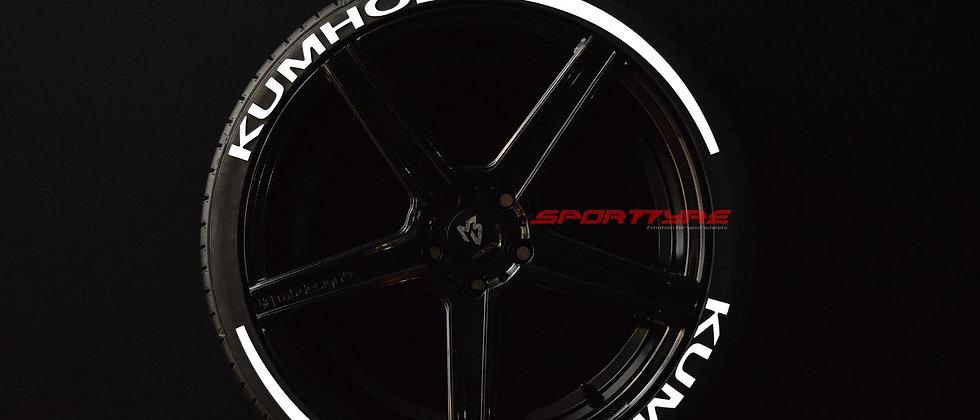 KUMHO + ARROW SportTyre EVO4 Top Quality Set 8 + 2 Activador + 1 Limpiador