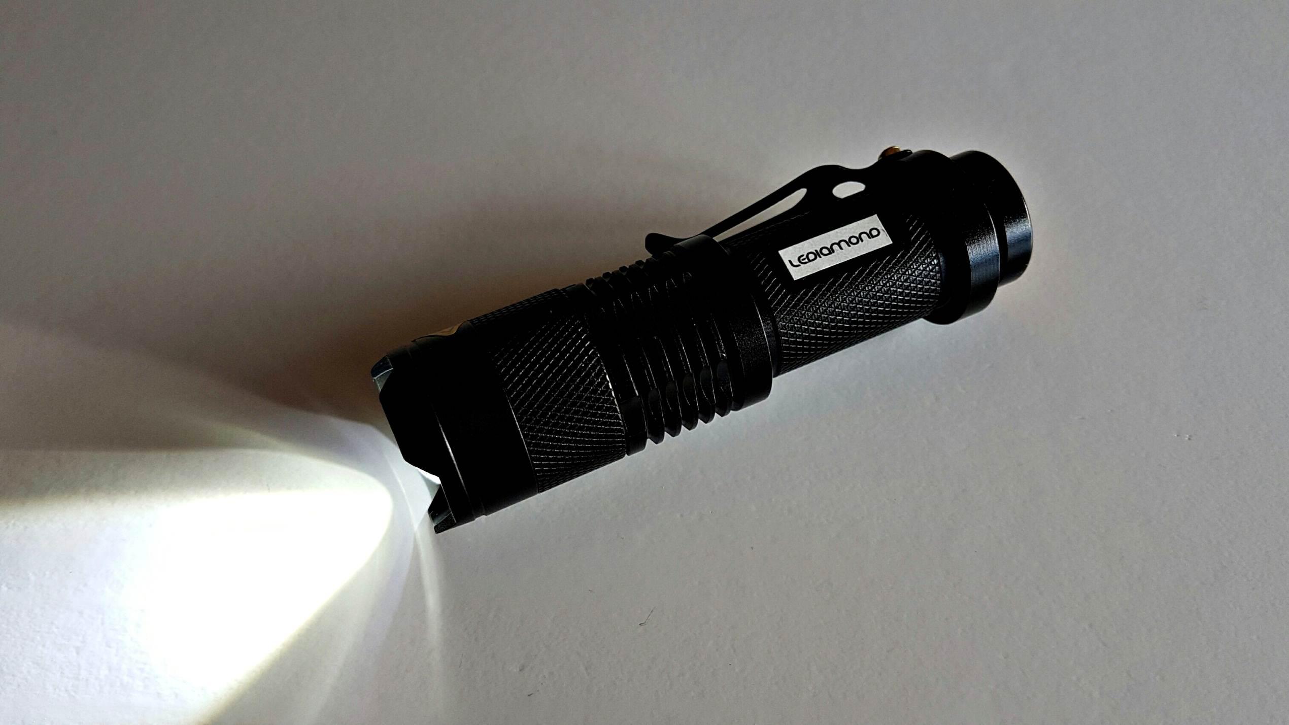 Linterna LEDIAMOND Mini luz4