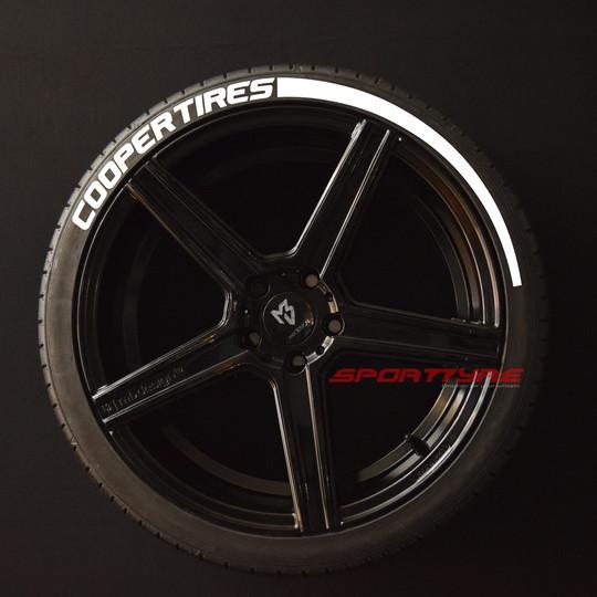 Cooper Tires blanco 1 Flecha SportTyre E