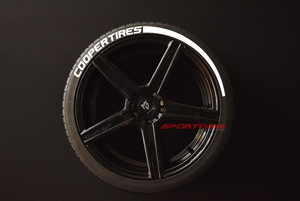COOPER TIRES + ARROW SportTyre EVO4 Top Quality Set 4 + 2 Activador + 1Limpiador