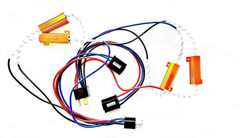 KIT CANBUS 50W 12V con conector H4 PLUG&PLAY. Canceladores de Error.