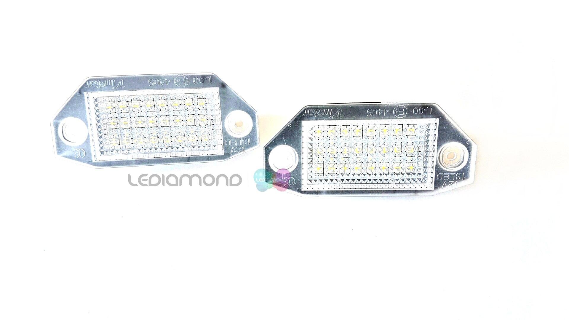 PLAFONES LED MATRICULA FORD LMD030701