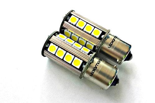 LEDiamond P21W-BA15S. Standard LED 5000K. CANBUS. SAMSUNG 5050. Blanco Diamante.