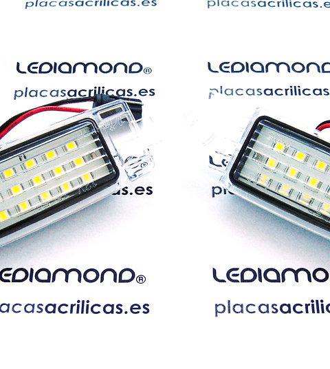 Plafones LED Matrícula TOYOYA MATRIX PRIUS 3ª Generación LMD030407