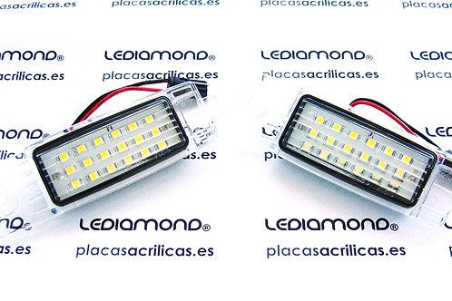 Plafones LED Matrícula SCION Scion XB - NCP31 03~06 LMD030404