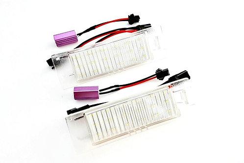Plafones LED Matrícula OPEL Astra, Insignia... LMD031902