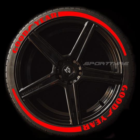 GOODYEAR rojo 2 flechas SportTyre EVO4 l