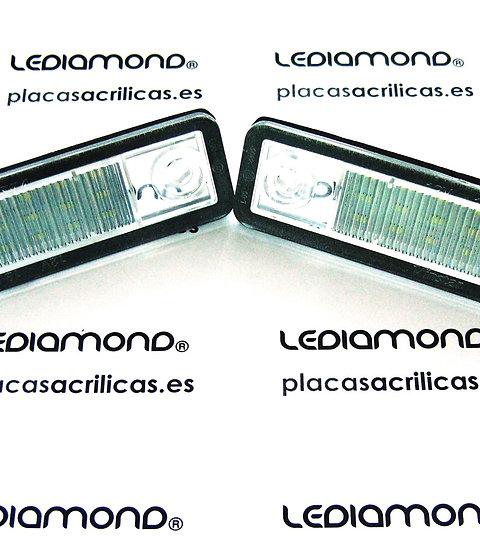 Plafones LED Matrícula OPEL ASTRA F y G OMEGA VECTRA B SIGNUM ZAFIRA A LMD031904